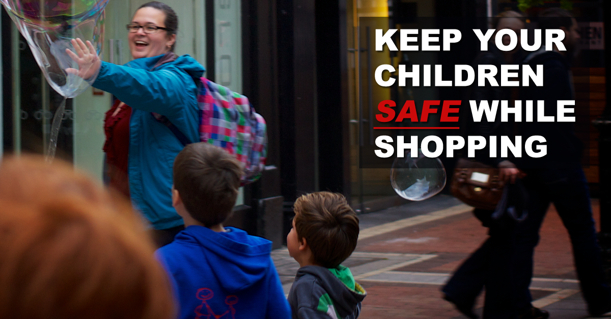 How-To-Keep-Your-Children-Safe-While-Shopping
