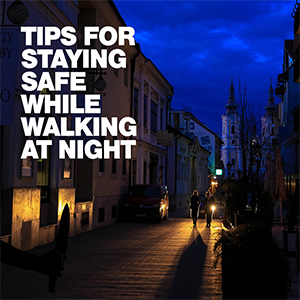 Bo Dietl Shares: Tips For Staying Safe While Walking At Night