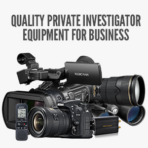 What To Consider For Quality Private Investigator Equipment?