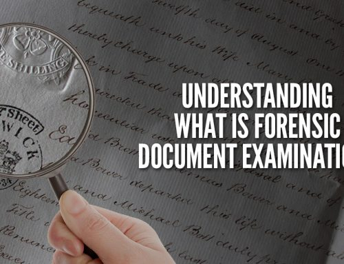 What Is Forensic Document Examination?