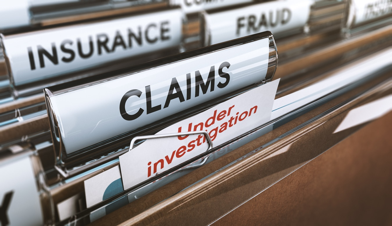 Insurance Company Fraud Claim Folder